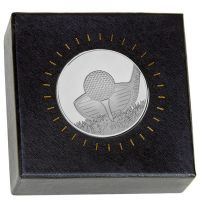 Nordic Golf Medal in Clear case </br>AM2009.02BS